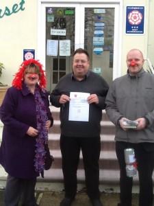 Dorset House raffle prize