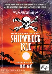 poster - ship wreck isle